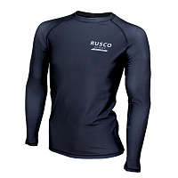 Рашгард для MMA Rusco Sport ONLY BLACK взрослый